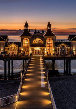 Seebrücke Sellin auf der Insel Rügen von Achim Thomae
