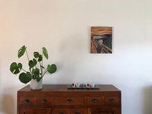 Klantfoto: De Schreeuw van Edvard Munch, op aluminium