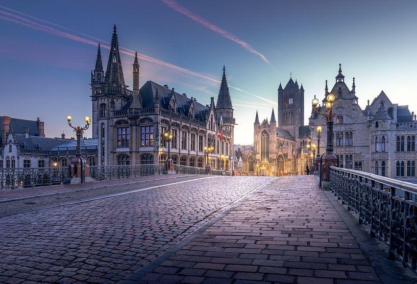 Iconic place Ghent van Wim van D
