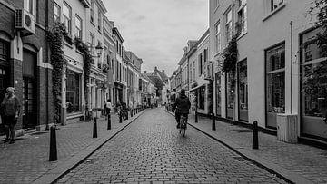 Straatfoto Breda centrum van Freddie de Roeck