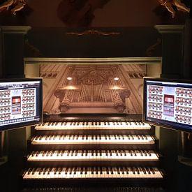 Klantfoto: Orgel Domkerk Utrecht van Gerrit Veldman, als behang