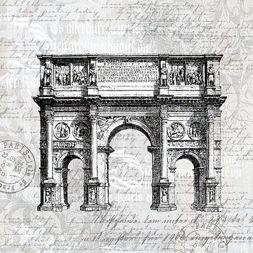 Barokke Romantiek In Grijs van Andrea Haase