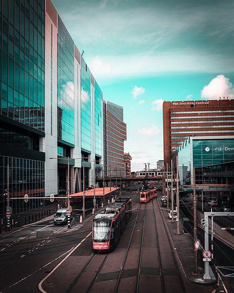Den Haag Central von Chris Koekenberg