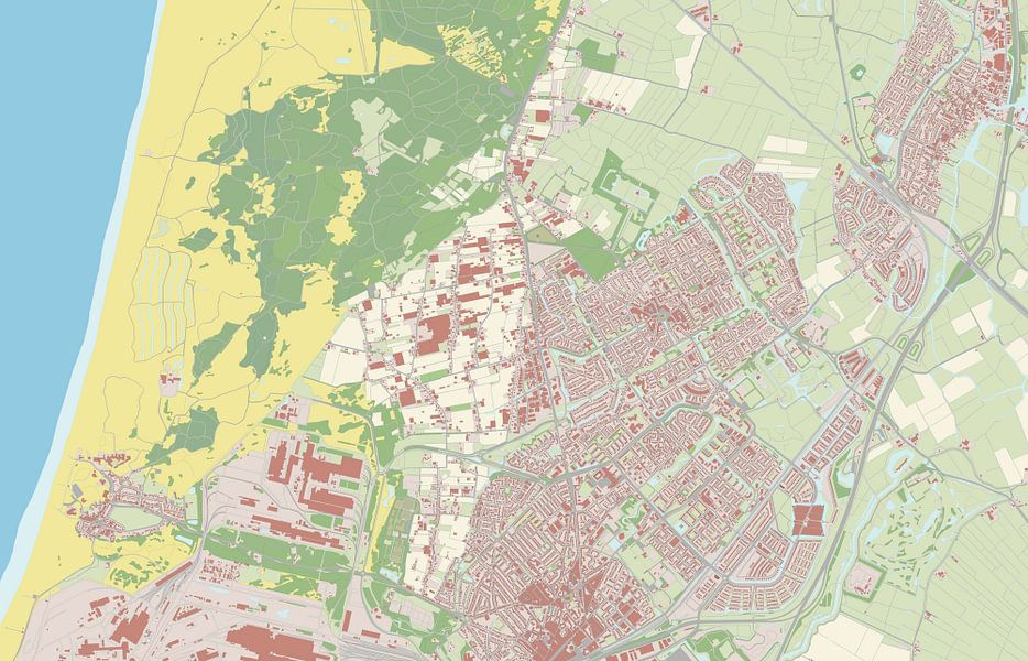 Kaart vanHeemskerk