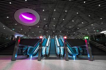 Treinstation Delft van Ronne Vinkx