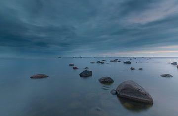 Sonnenuntergang Dirhami (Estland) von Marcel Kerdijk