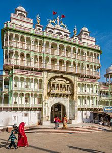 Rani Sati tempel Jhunjhunu, Shekawati van Theo Molenaar
