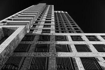 Boston gebouw in Rotterdam op de Kop van Zuid von Mark De Rooij