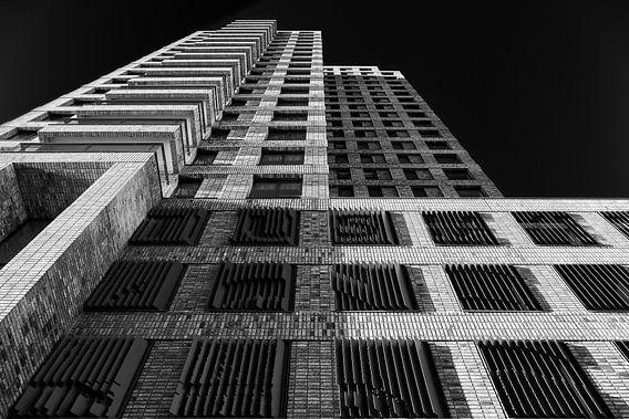 Boston gebouw in Rotterdam op de Kop van Zuid van Mark De Rooij