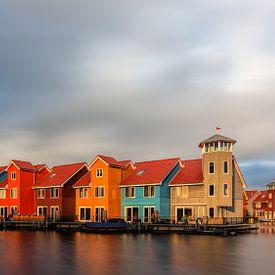 Reitdiephaven Groningen Long Exposure van R Smallenbroek