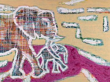Umarmen Sie den Elefanten von ART Eva Maria