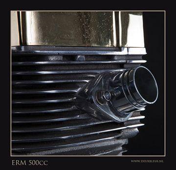Motorblok ERM 500 CC van Michelle Peeters