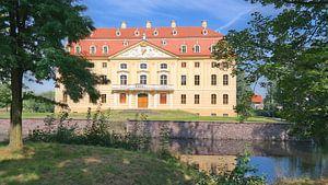Barockschloss Wachau im Sommer von