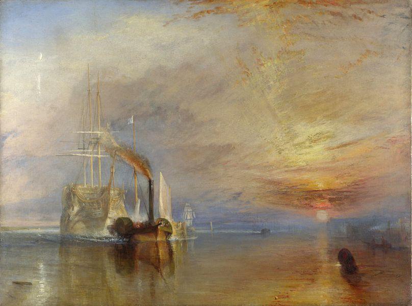 William Turner. The Fighting Temeraire van 1000 Schilderijen