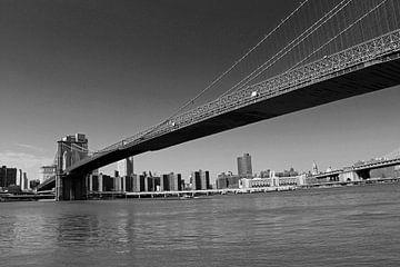 Brooklyn bridge zwart/wit von Lisa Poelstra