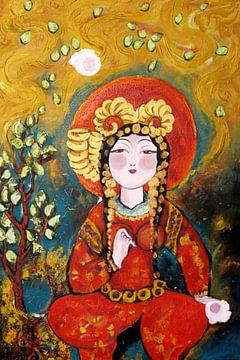 Budda von Leila Chouban