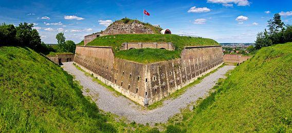 Panorama Fort st. Pieter te Maastricht