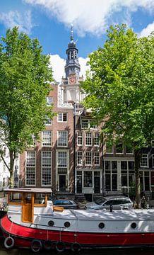 Nabij de Zuiderkerk in Amsterdam van Peter Bartelings Photography