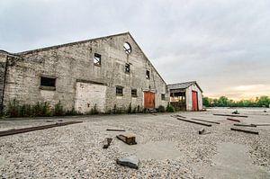 Voormalig betonfabriek Spaansen te Harlingen.