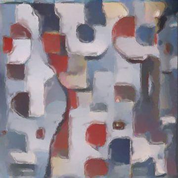 Abstrakte Inspiration LXI von Maurice Dawson