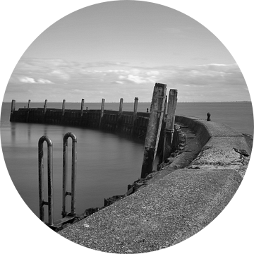 Flaauwershaven Zierikzee van Daan Overkleeft