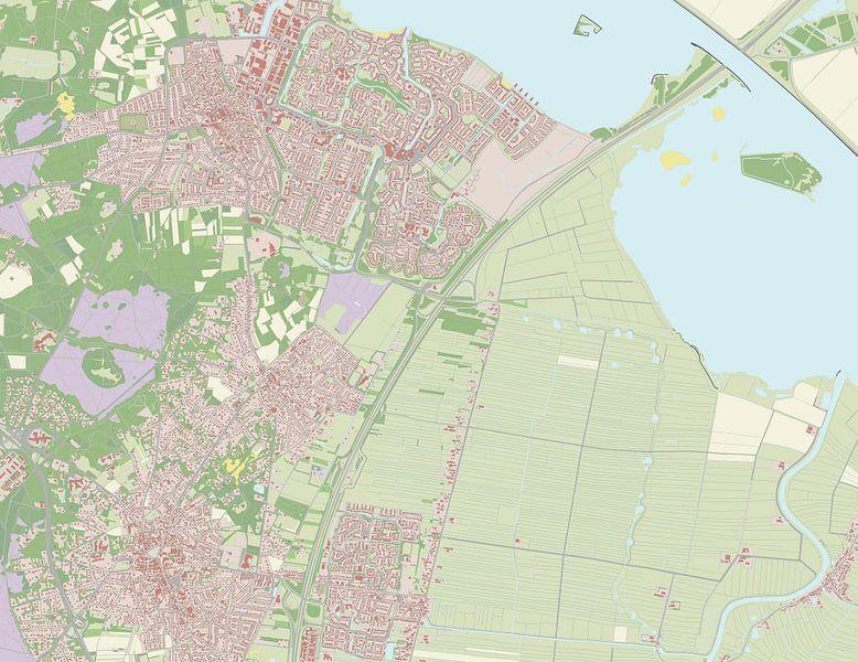 Kaart vanBlaricum