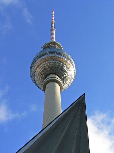 Berlin TV Tower (Berliner Fernsehturm) van Barbara Hilmer-Schroeer