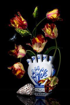 """Stilleven """"Royal Tulp"""" van Sander Van Laar"""