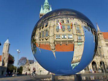 Kasteel Dankwarderode, stadhuis, plaats van Duitse eenheid in Braunschweig van schroeer design