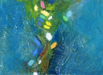 Modern Abstrakt - Blauw - 1 van modern art2.0