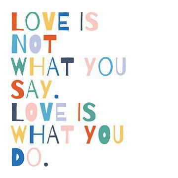 Regenboog woorden i, Moira Hershey van Wild Apple