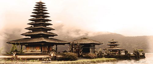 Uluwatu eiland tempel - Bali - Indonesië van