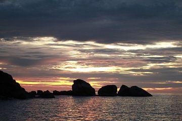 Sunset in Similan islands von Annasus Nenolas