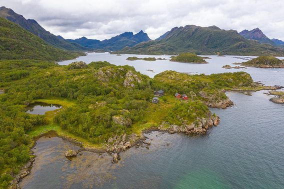 Vesterålen Noorwegen