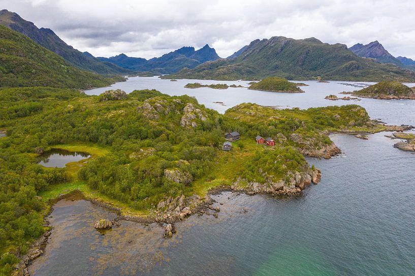 Vesterålen Noorwegen van Jeroen Kleiberg