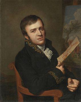 Jan (Baptist) Kobell II (1778-1814). Maler, in der Uniform eines Mitglieds des Royal Institute of Sc