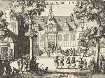 Die alten Tore, Haarlem, Romeijn de Hooghe