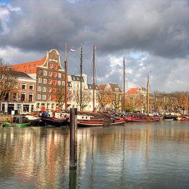 Haven van Dordrecht van Jan Kranendonk