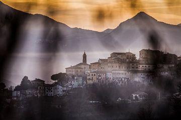 Italiaans dorp van Frans Scherpenisse