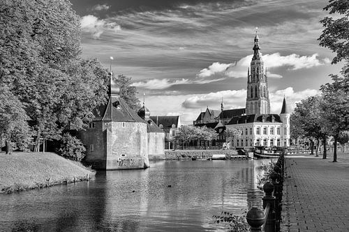 Breda Spanjaardsgat vanaf Prinsenkade van JPWFoto