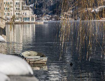 Boot auf dem Zeller See (A) von Martine Dignef