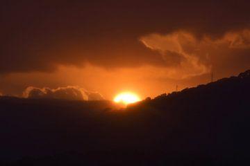 Zonsondergang in Spanje von Lendy Fotografie .