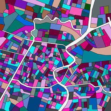Haarlem mozaiek van Stef Van Campen