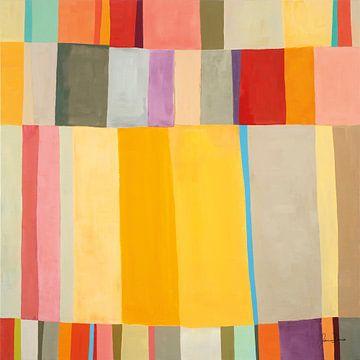 Sunshine Stripes II, Jane Davies van Wild Apple