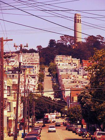 San Francisco met de Coit Tower