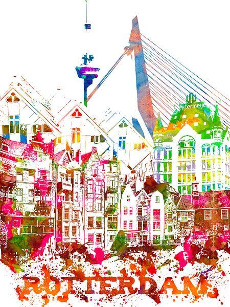 Rotterdam van Printed Artings