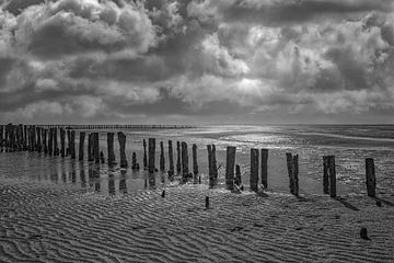 Abend in Nordfriesland von Peter Eckert
