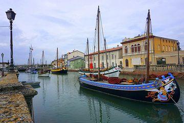 Cesenatico, Italie sur Ineke Klaassen