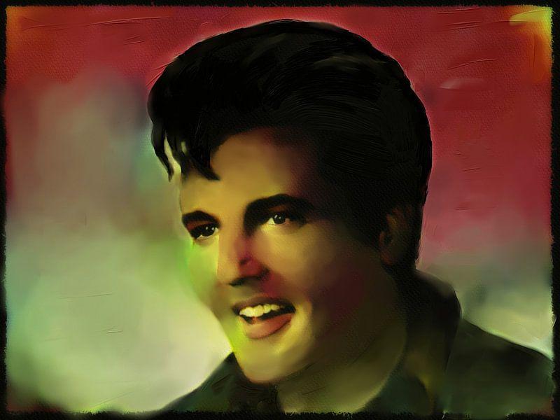 Elvis - Pop Art von Christine Nöhmeier
