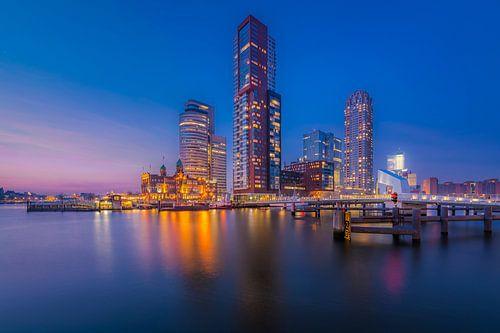Kop van Zuid - Blauw uur van Prachtig Rotterdam